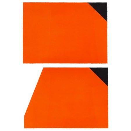 DAN FLAVIN (1933-1996) For Malevich: two prints