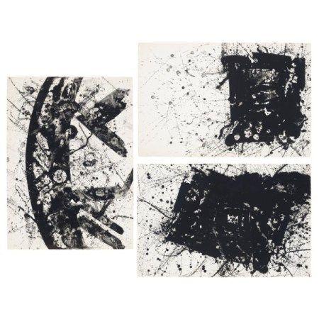 SAM FRANCIS (1923-1994) Three prints by the artist