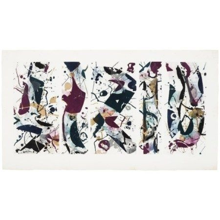 SAM FRANCIS (1923-1994) The Five Continents in Wintertime (SFE-022)