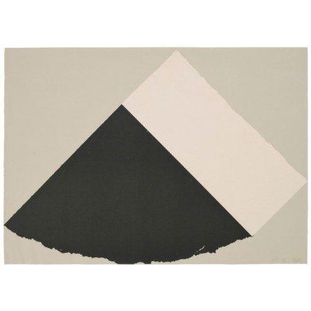 ELLSWORTH KELLY (1923-2015) Dark Gray and White