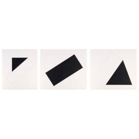 ELLSWORTH KELLY(1923-2015) Series of Seven Lithographs