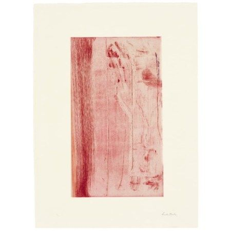 HELEN FRANKENTHALER (1928-2011) Pompeii