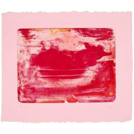 HELEN FRANKENTHALER (1928-2011) The Red Sea