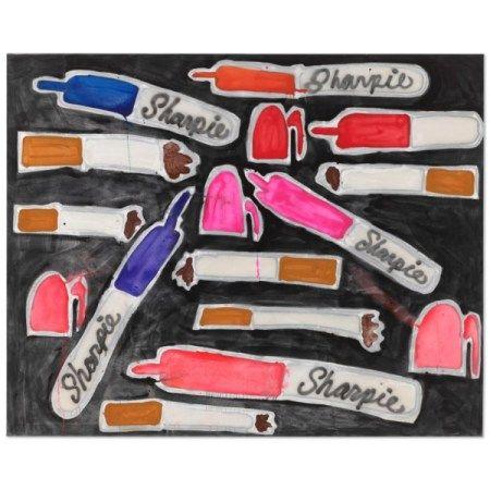 KATHERINE BERNHARDT (B. 1975) Sharpies + Cigarettes