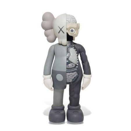 KAWS (B.1974) FOUR-FOOT DISSECTED COMPANION (GRAY)