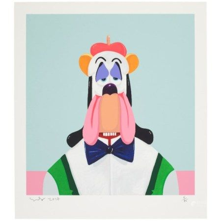 GEORGE CONDO (B. 1957) Droopy Dog Abstraction