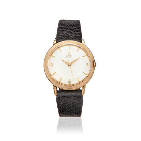OMEGA. A 10K GOLD FILLED AUTOMATIC WRISTWATCHRef: GX6279, c.1950s