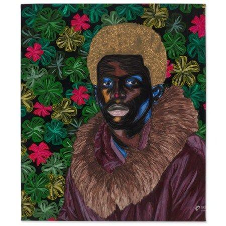 ADEGBOYEGA ADESINA (B. 1998) Portrait of Gilchrist