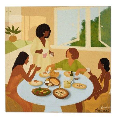 SARAH DAHIR (B. 1995) Sunday Dinner