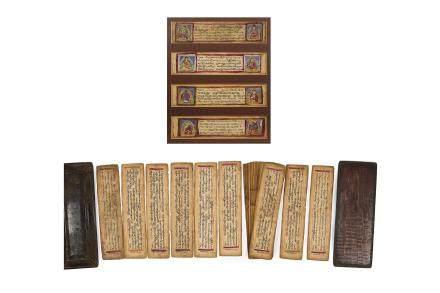 TIBET XIXe siècle Livre