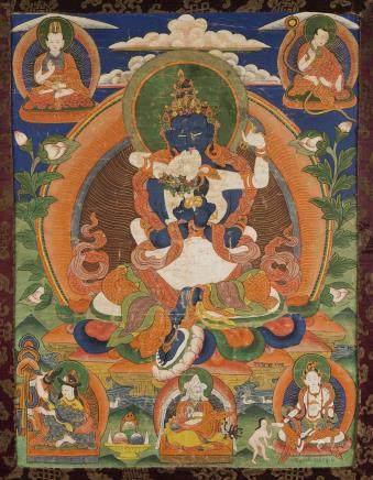 TIBET XVIIIe siècle Tangka