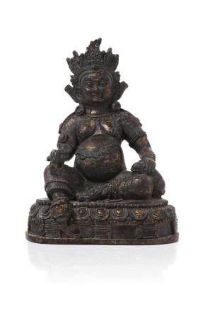 TIBET XIXe siècle Statuette