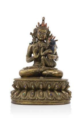 TIBET XXe siècle Bodhisattva