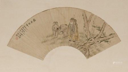 SHEN ZHAOHAN (1855-1941), SU WU SHEPHERDING SHEEP