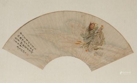 ATTRIBUTED TO REN YU (1853-1901), IMMORTALS