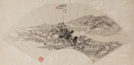 TAO DAO (1825-1900), FAN PAINTING