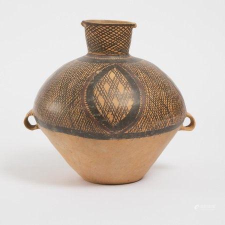 新时期时代 马家窑文化 半山类型彩绘陶罐 A Large Painted Pottery Jar, Majiayao Culture, Banshan Phase, Neolithic Period, 3rd Millennium BC