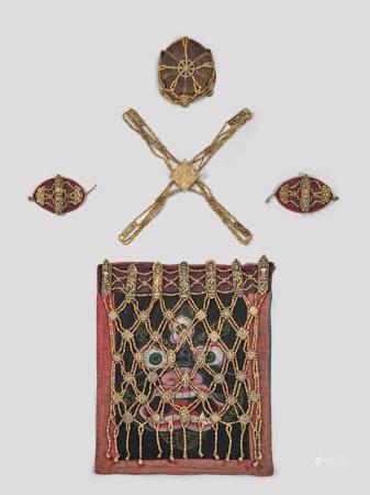 A BONE RITUAL ENSEMBLE NEPAL, 18TH/19TH CENTURY