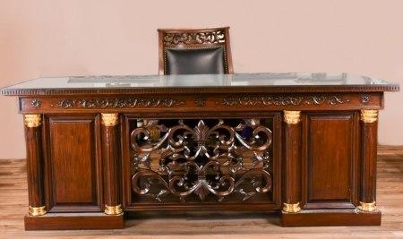 20世紀 紅木書桌一套