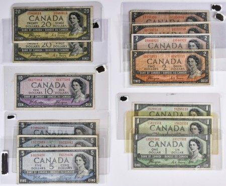 加拿大銀行 1954 紙幣
