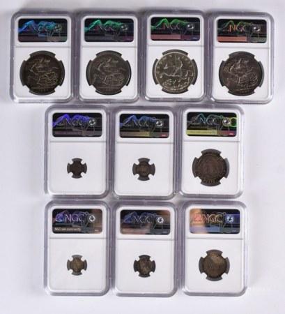 1595-1935大英硬幣