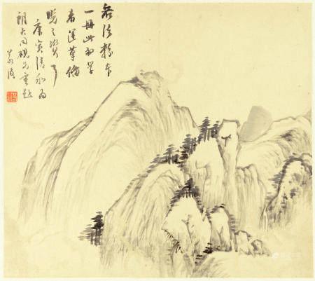 Gu Yun (1835-1896)   Landscapes, 1890 (12)