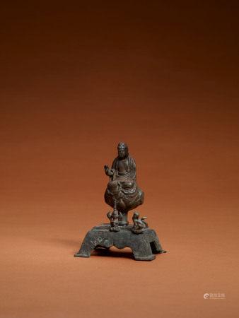 晚唐 銅釋迦牟尼像