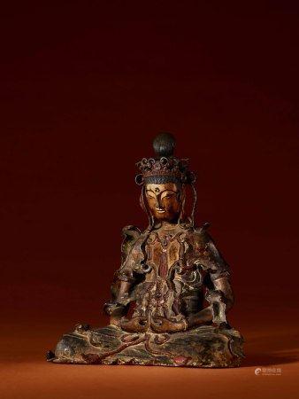 宋-元 銅阿密陀佛坐像