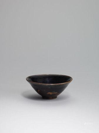 宋 磁州窯黑釉茶盞