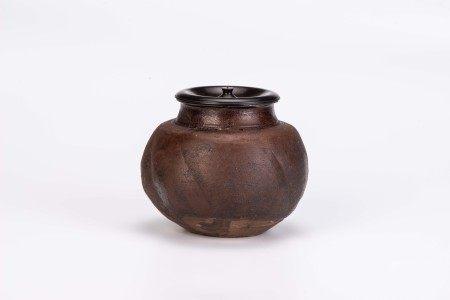 宋 洪塘窯瓜棱型茶罐