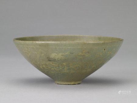10-12世紀 高麗青瓷飛鶴碗