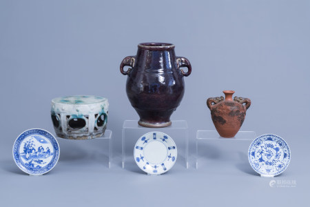 A varied collection of Chinese and Japanese ceramics, 19th C. and later