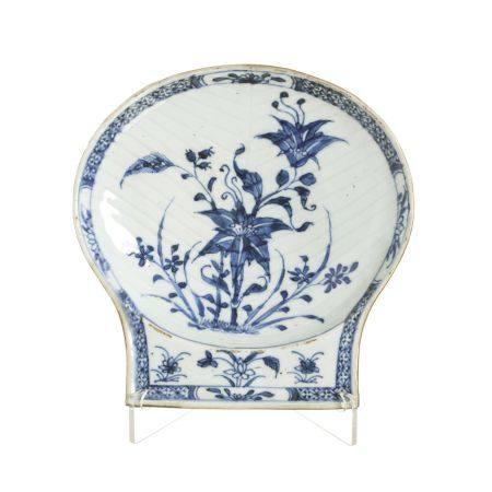 Large Chinese porcelain shell, Qianlong