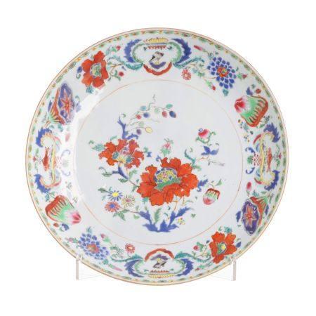 'Madame de Pompadour' Chinese armorial porcelain deep dish