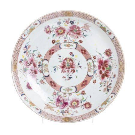 Large Chinese Porcelain Plate, Qianlong