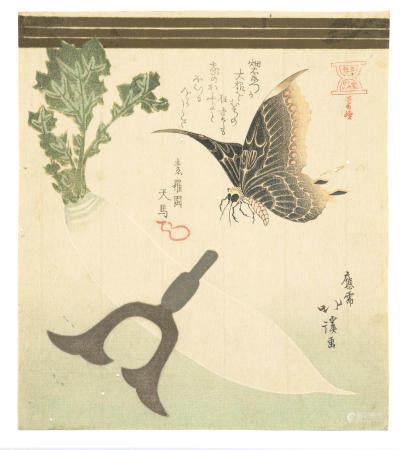 TOTOYA HOKKEI (1780-1850)  Edo period (1615-1868), 1818-1824