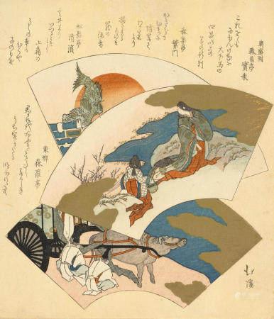 TOTOYA HOKKEI (1780-1850)  Edo period (1615-1868), 1829