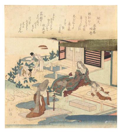 TOTOYA HOKKEI (1780-1850)  Edo period (1615-1868), first half of the 19th century