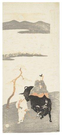KITAO SHIGEMASA (1739-1820) The poet Sugawara Michizane