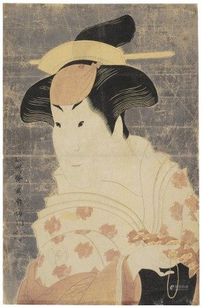 TOSHUSAI SHARAKU (ACT. 1794-95) The actor Iwai Hanshiro IV as the Wet Nurse Shigenoi