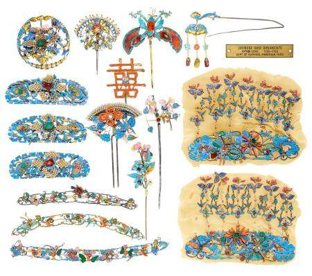 An Exceptional Collection of Chinese Hair Ornaments