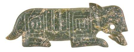 An Archaistic Chinese Jade Carving