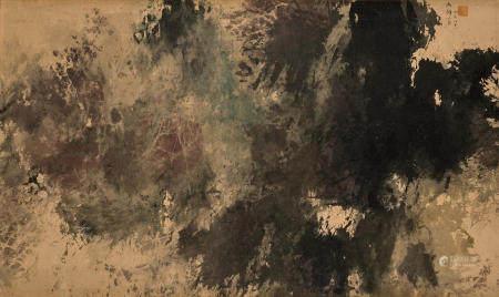 Fong Chung-Ray (BORN 1933) Abstract painting, 1966