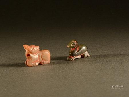 Han Dynasty - Hetian Jade Beast