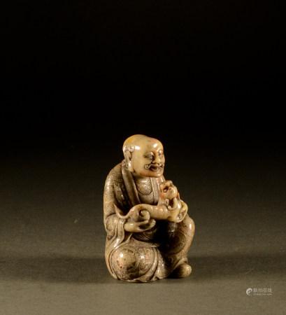 The Qing Dynasty - Shoushan Stone Arhat