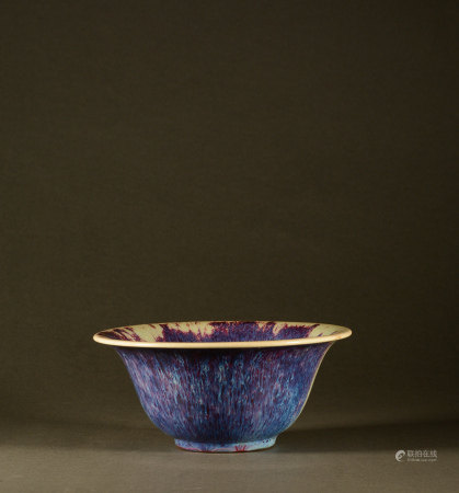 Song Dynasty - Jun kiln purple bowl