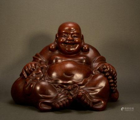 Qing Dynasty - Purple Sand Buddha