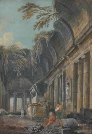 Landscape of a Temple