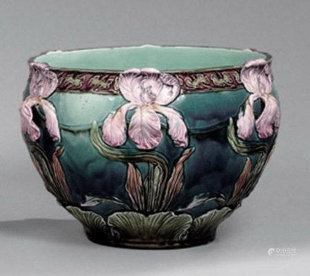 A Ceramic Flowerpot
