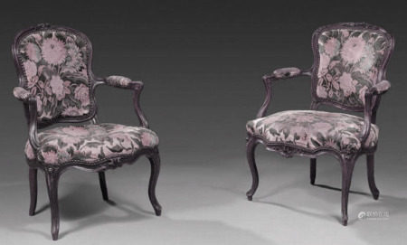 Two armchairs